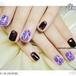 ♥ 艾芙蒂亞光療指甲。冬天動物紋指甲披上身