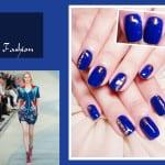 ♥ 光療指甲2014春夏時尚色系:電光藍Dazzling Blue